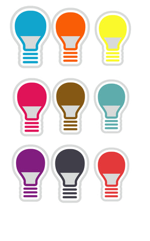 Bulbs in SWF vector graphic