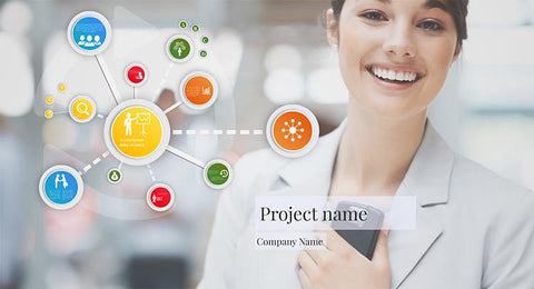 Human resources project Prezi template
