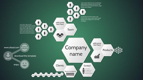 Company introduction business Prezi template