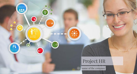 Human resources hiring Prezi template