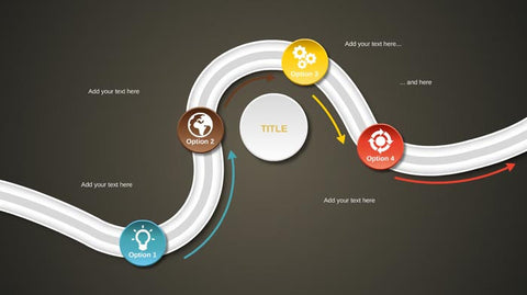 4 options Prezi template