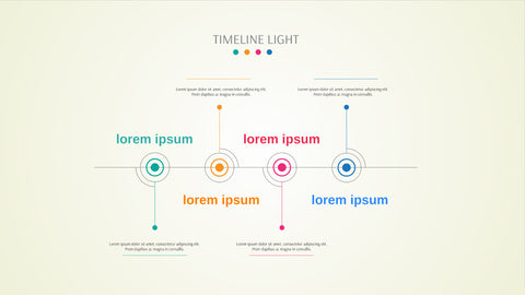 Light Timeline Presentation