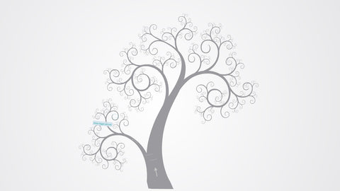 Majestic tree Prezi template.