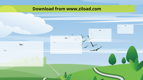 Green Valley Prezi template