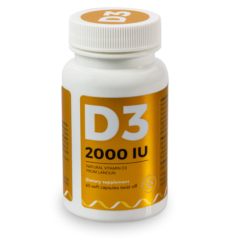 D3 - 2000IU Capsules - Twist Off