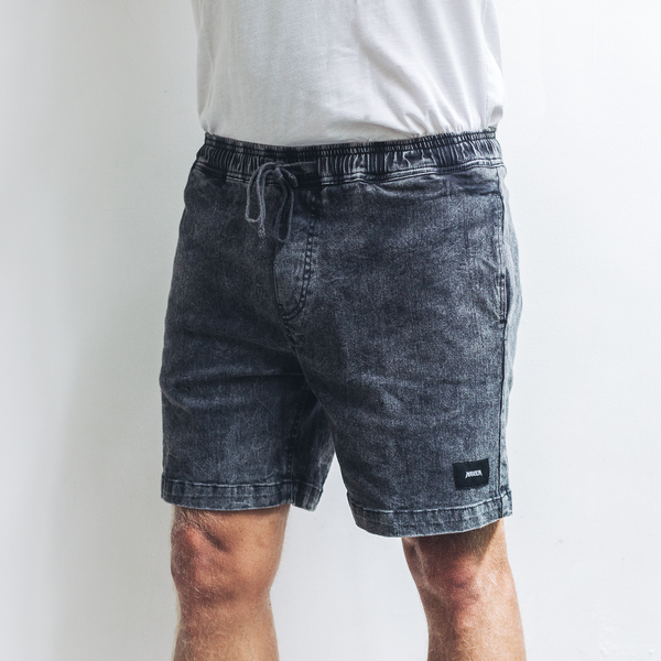 ARLO SHORTS | black wash