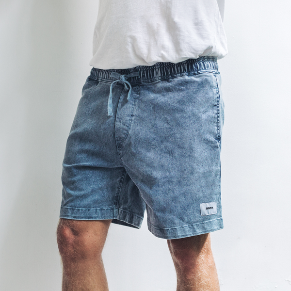 ARLO SHORTS | navy wash