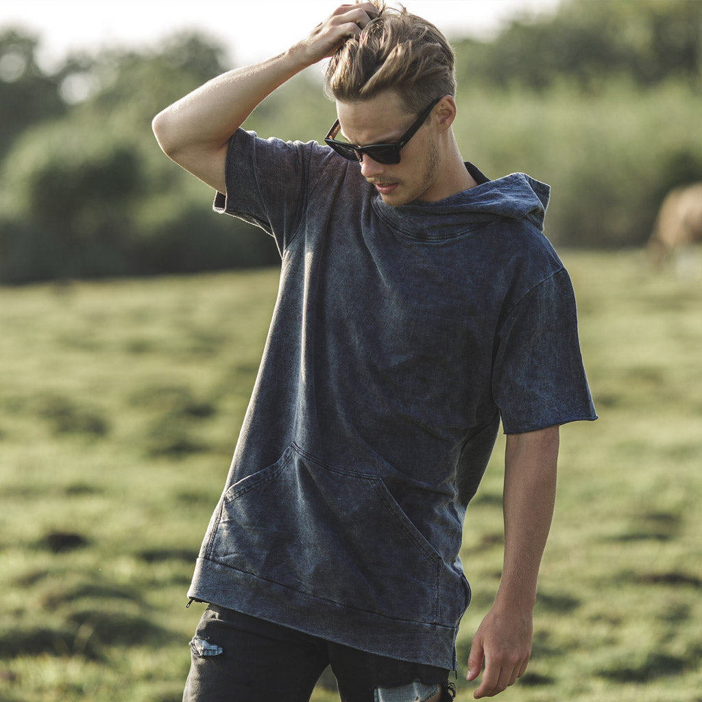 FINGAL HOOD | black wash