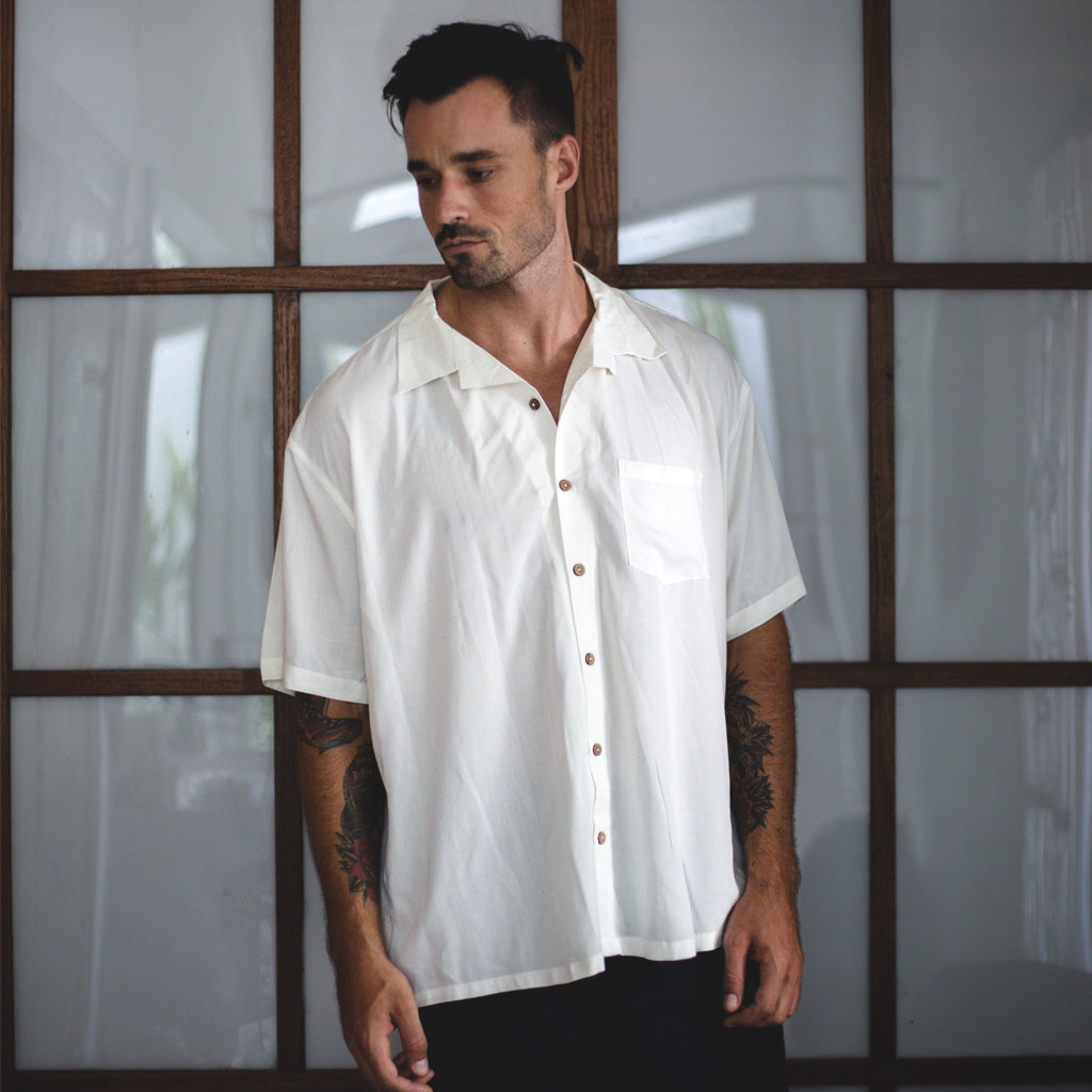 HAWAII SHIRT | beige