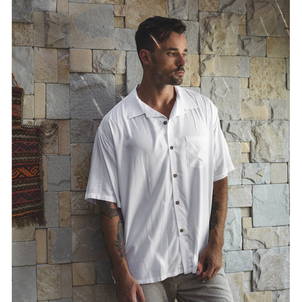 HAWAII SHIRT | white