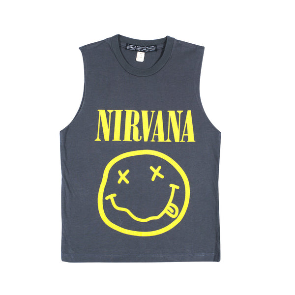 LITTLE MUSCLE NIRVANA | dark grey
