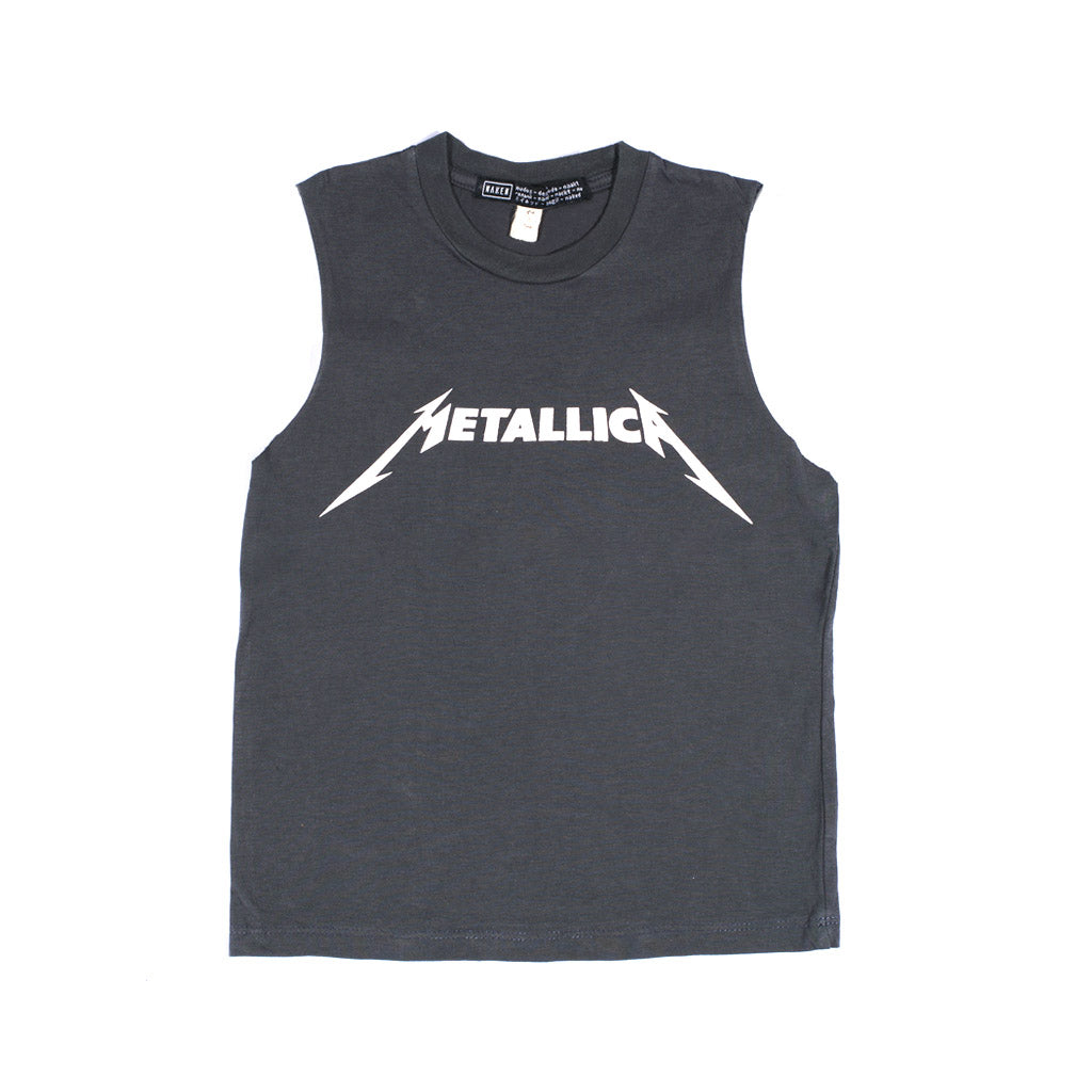 LITTLE METALLICA MUSCLE | dark grey