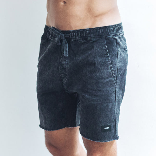 MASON SHORTS | black wash