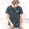 PSYCHEDELIC TEE | black wash