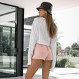 SKYE SHORTS | pink wash