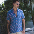 VACAY SHIRT | flamingo navy