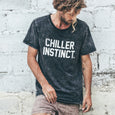 CHILLER INSTINCT TEE | black wash