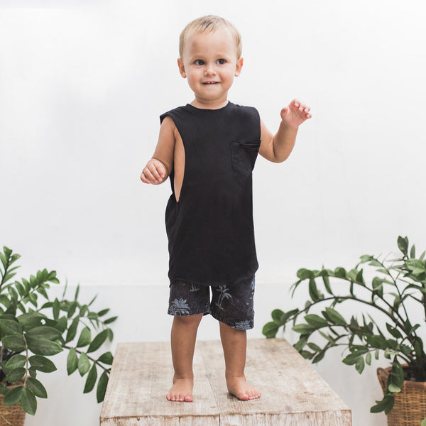 LITTLE RIPPER MUSCLE | black
