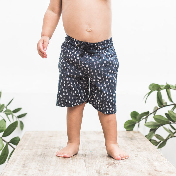 LITTLE SURFER | anchor navy