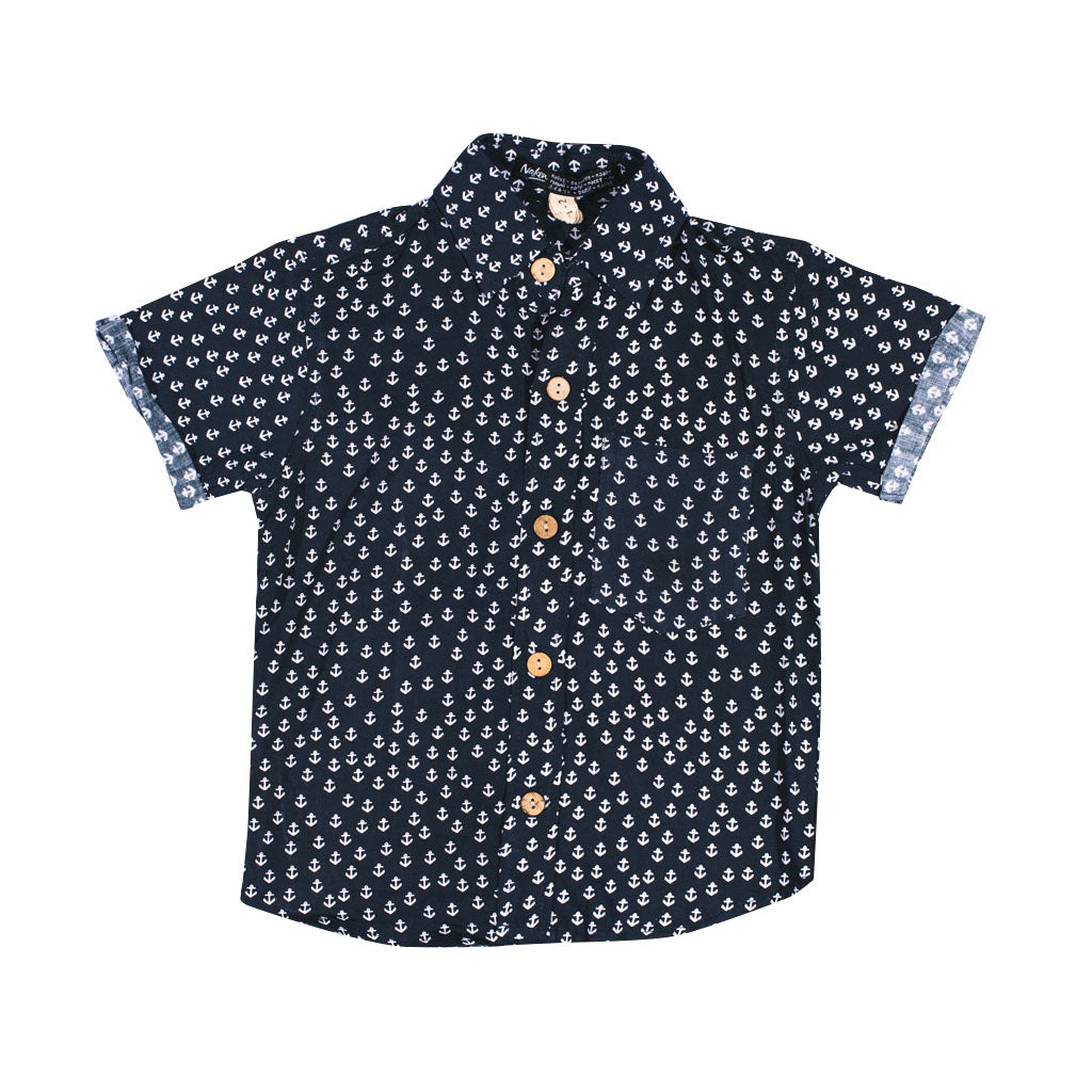 LITTLE CRUZER | anchor navy