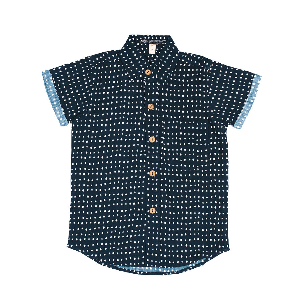 LITTLE CRUZER | spotted navy
