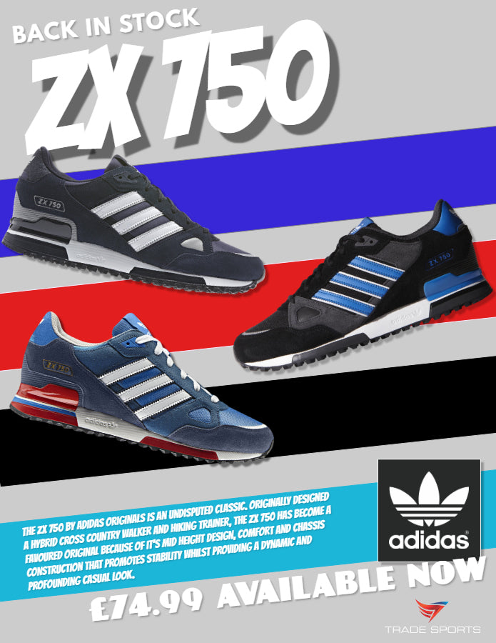 new arrival b0735 19d8b ZX 750 are Back in Stock Men's adidas Originals - Trade Sports