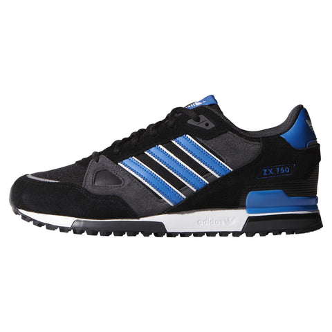 adidas ZX 750 Core Black/Bluebird/White
