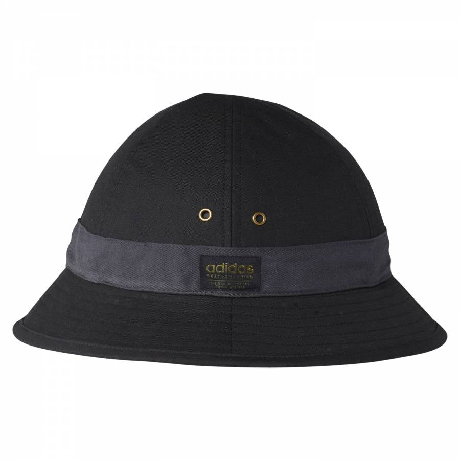 aa61f4e6d63 adidas Originals Skate Canvas Bucket Hat - Black BR3858 - Trade Sports