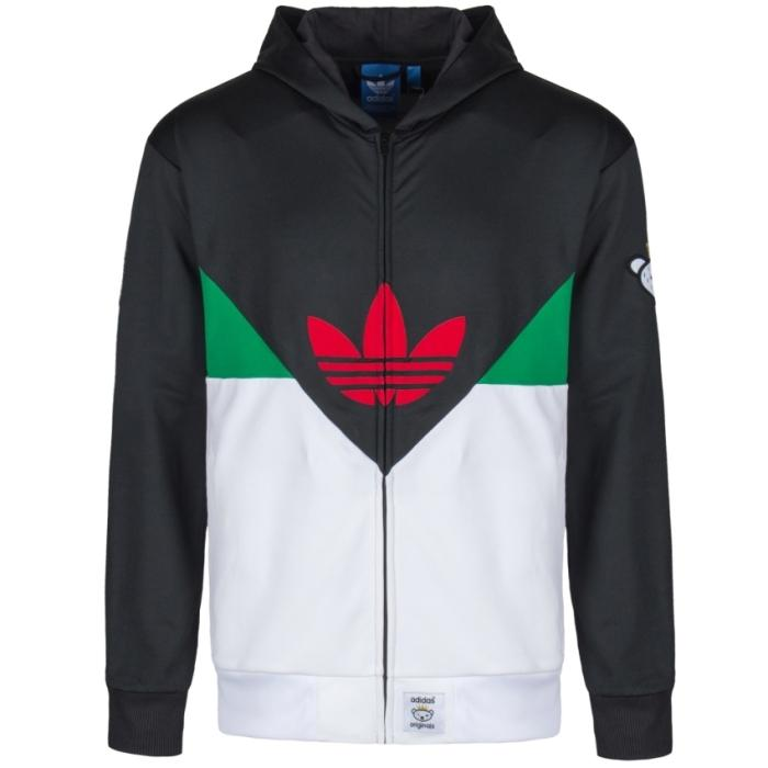 wholesale dealer 227bb bfb46 adidas Originals x Nigo Colorado FZ Hoodie - Black