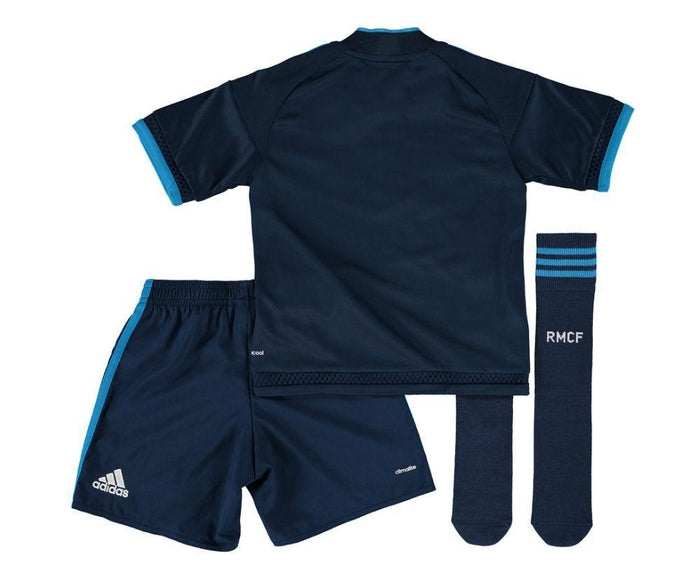 3cce21f952d adidas Junior Real Madrid Third Mini Kit - Navy - Trade Sports