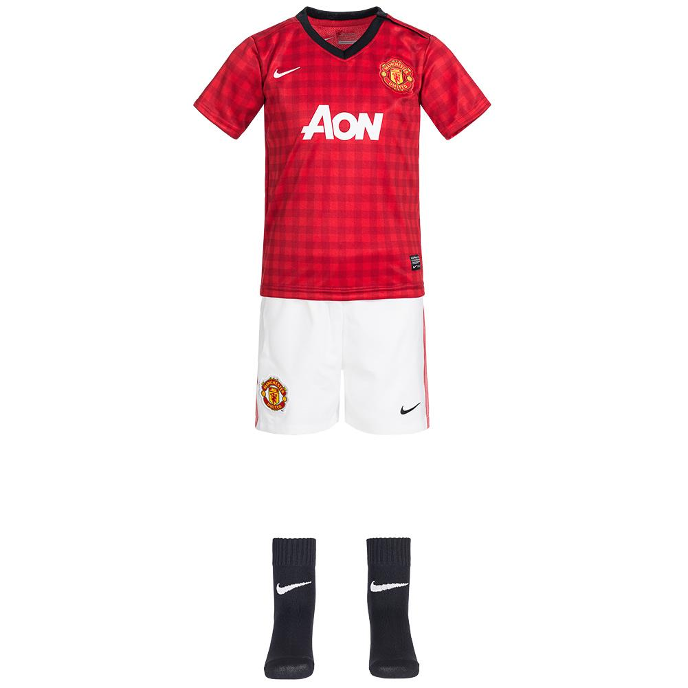 596b819ff Nike Manchester United Infant Full Kit - Red - front ...