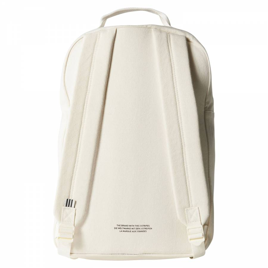 2d091ed7a782 ... adidas Originals Classic Canvas Backpack - White Stripes ...