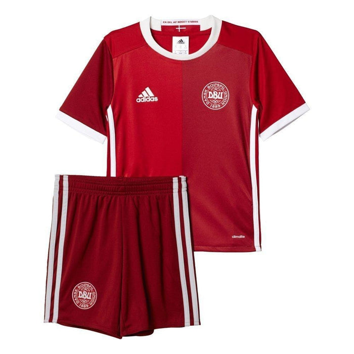 75e0a9b7a adidas Essentials Denmark 16 17 Mini Kit - Red - Trade Sports