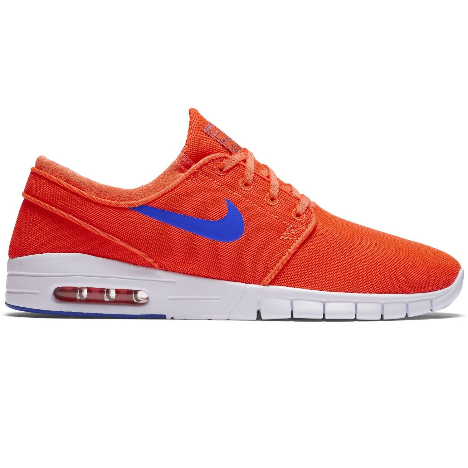 brand new 63d19 55b45 ... Nike Men s Stefan Janoski Max Trainers Orange Main ...