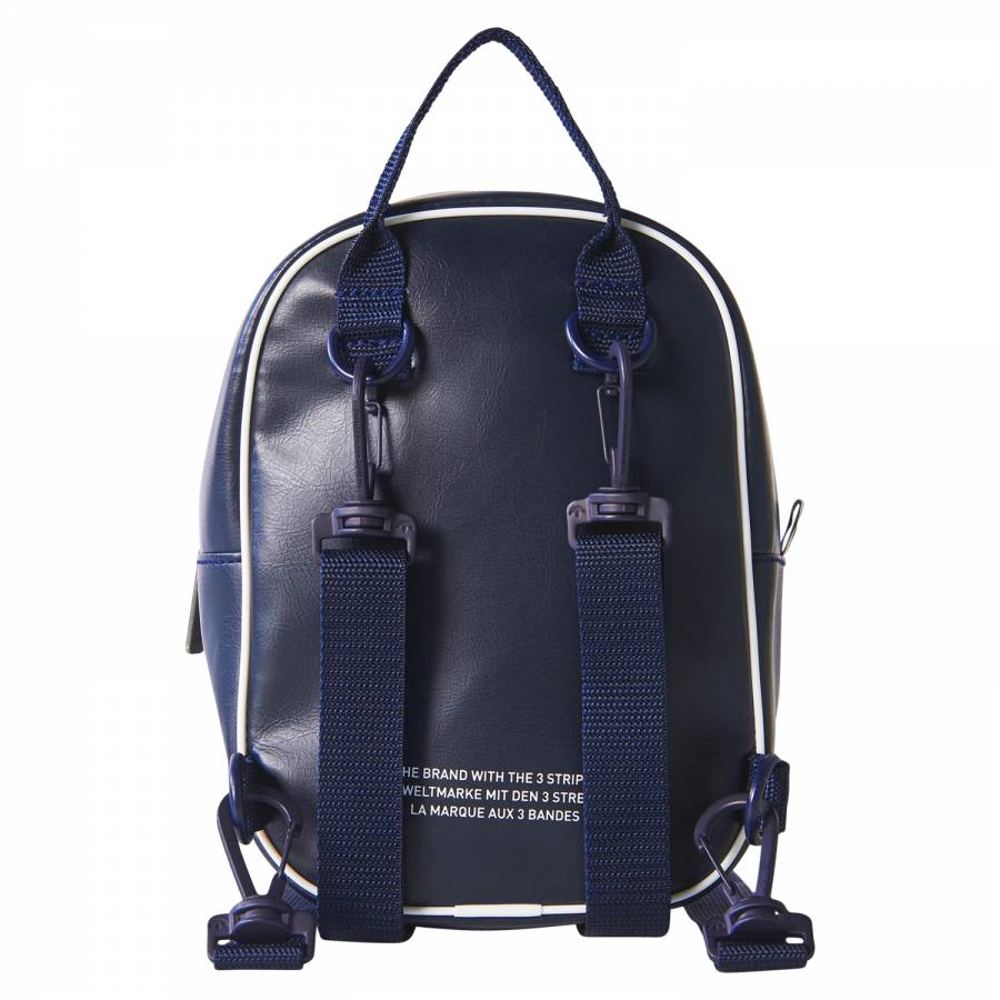 f9a0dfddc5f1 adidas Originals Classic Mini Vintage Backpack - Blue BQ8099 - Trade ...