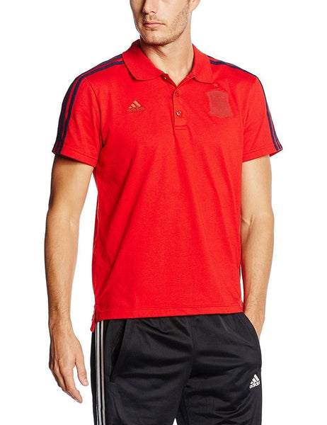 Adidas Spain Polo Shirt Red Trade Sports