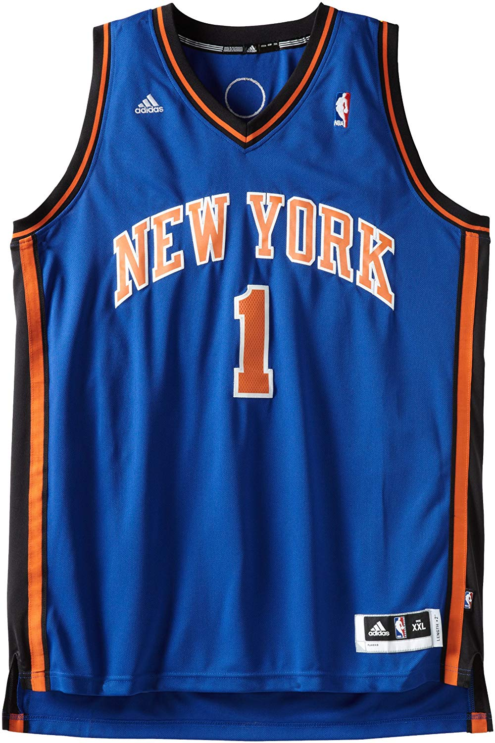 36741fd3014 adidas Men's New York Knicks Stoudemire Jersey - Large - Trade Sports