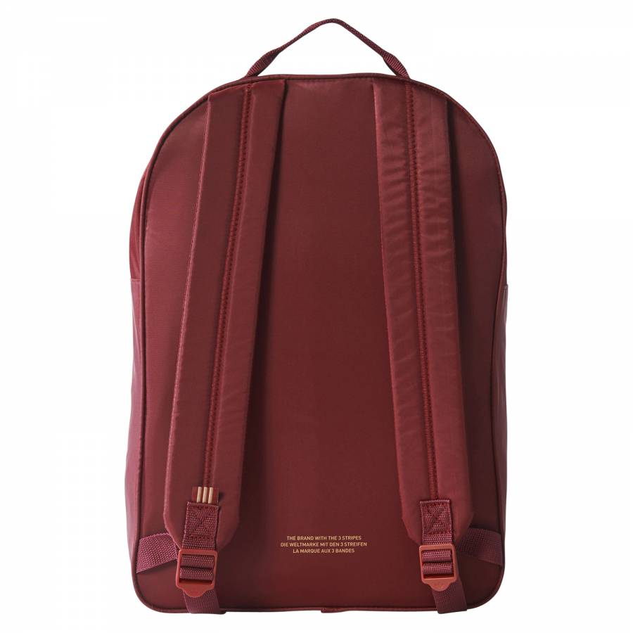 94c257519e13 adidas Originals Classic Trefoil Backpack - Burgundy - Trade Sports