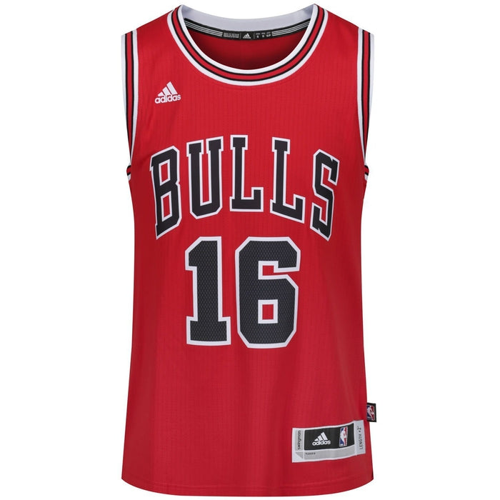 ffdc1a7ad33 ... adidas Chicago Bulls Swingman Basketball Jersey Red - Front A59526 ...