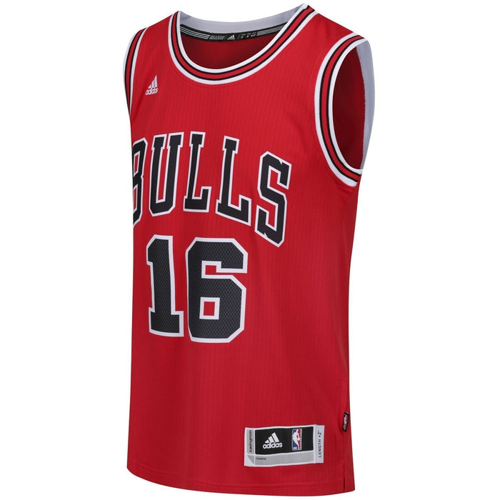 63403735a ... adidas Chicago Bulls Swingman Basketball Jersey Red - Front Angle  A59526 ...