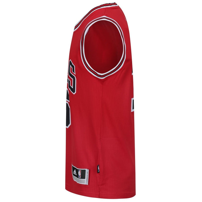 ... adidas Chicago Bulls Swingman Basketball Jersey Red - Side A59526 ... dac8557b3