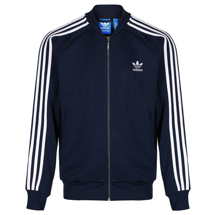 1c50b0920601 adidas Originals Men s Superstar Track Top - Navy - Trade Sports