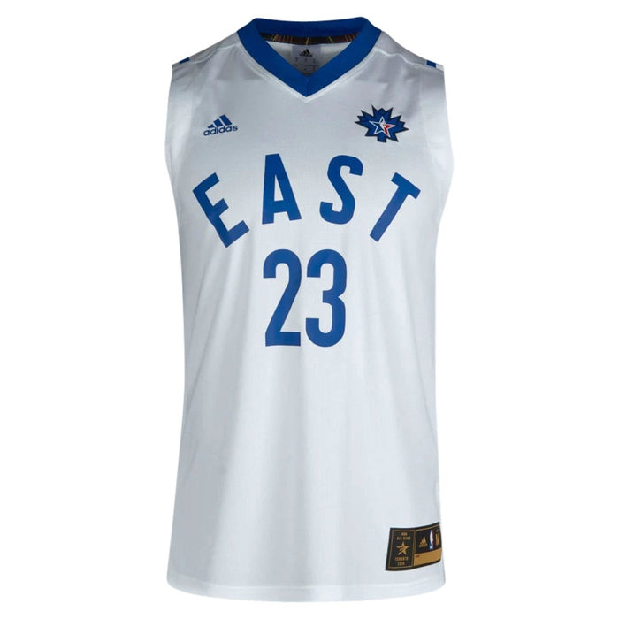 low priced 1c144 30016 adidas All-Star NBA LeBron James 23 Replica Jersey - White