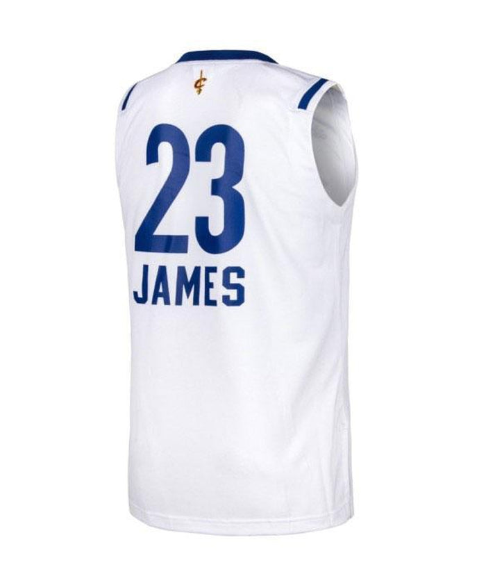 huge discount 1eb53 51e27 ... adidas All-Star NBA LeBron James 23 Replica Jersey - White - Back ...