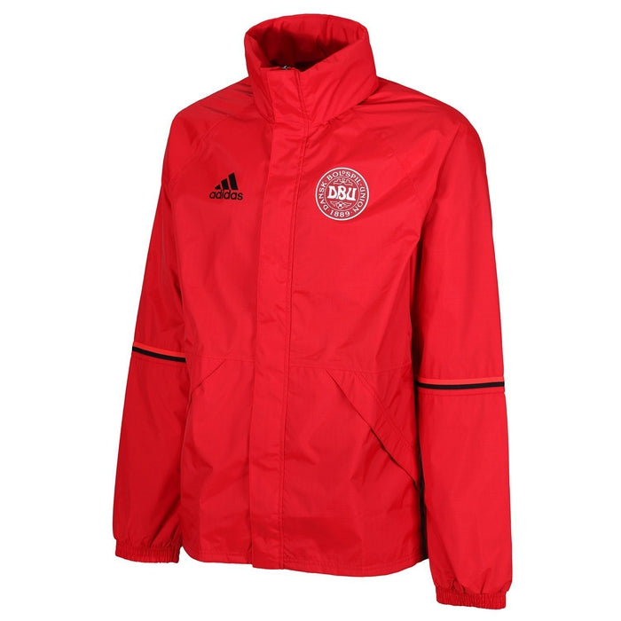 b8905f4a4f60 adidas Essentials Denmark Rain Jacket - Red - Trade Sports