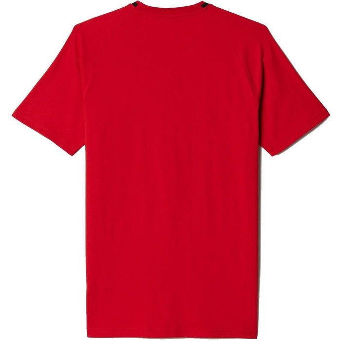 Adidas Manchester United T Shirt Red Ai5403 Trade Sports