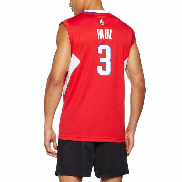 buy online 959e5 1892d adidas LA Clippers Chris Paul Jersey - Red