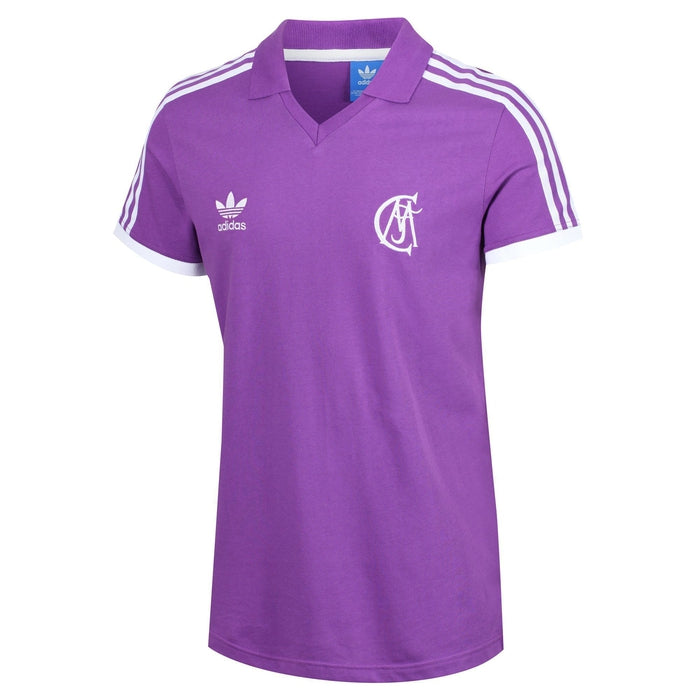 adidas Originals Real Madrid Retro Jersey Purple