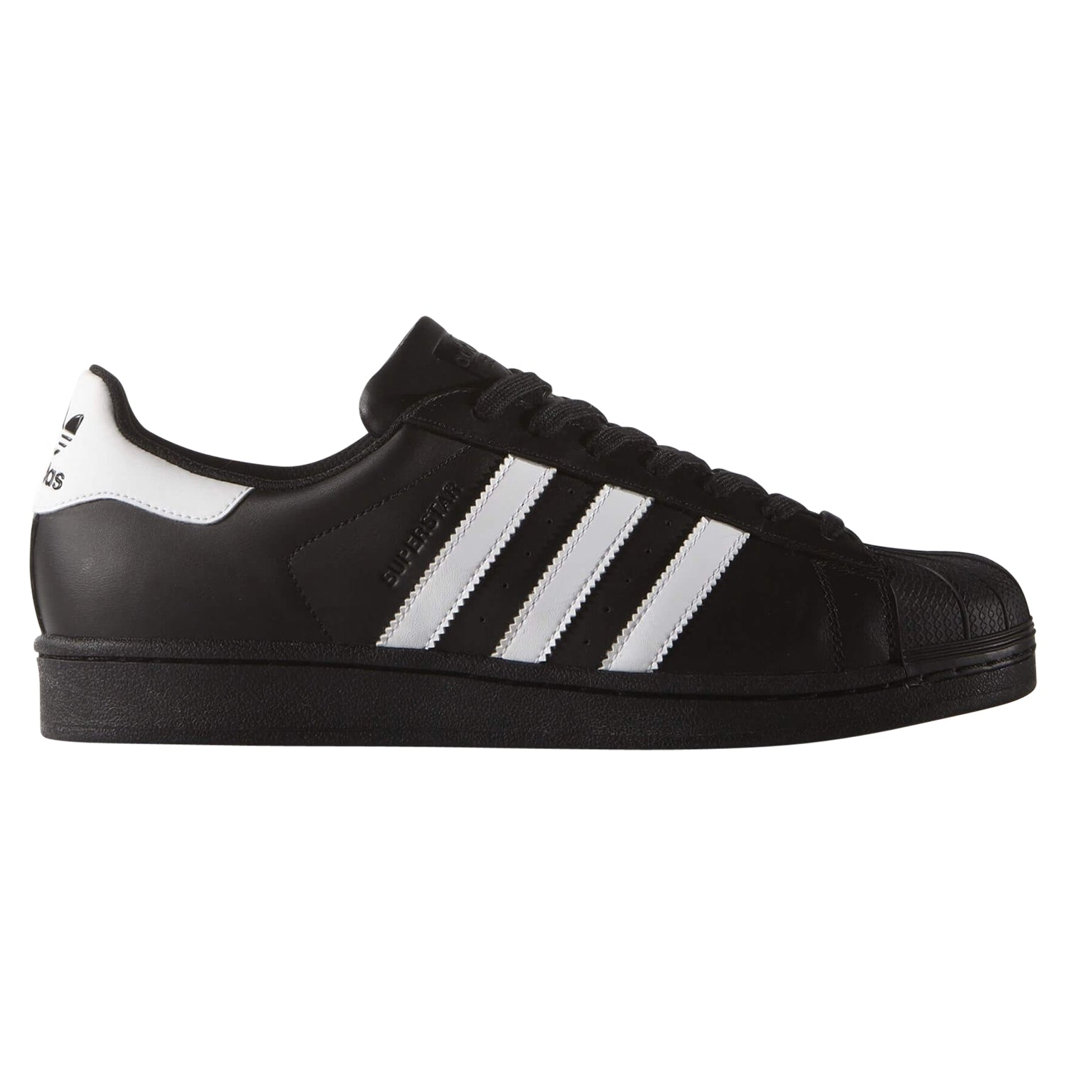 adidas Originals Men's Superstar Trainers BlackWhite