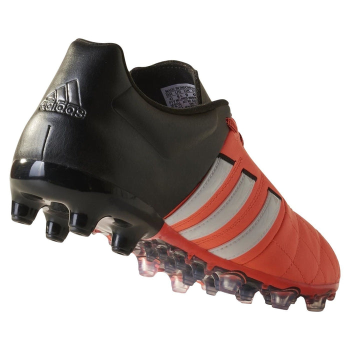 d939b6b33 adidas ACE 15.2 FG AG Leather Football Boots Orange Black White Back  Profile ...